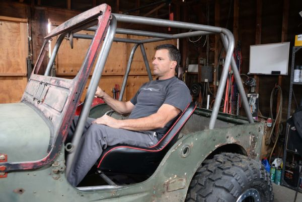 Gpw Jeep Flatfender Flattie Rollcage Cage Fabrication Weld Welding Prp Suspension Seats Cappa Lpr Photo 90306852