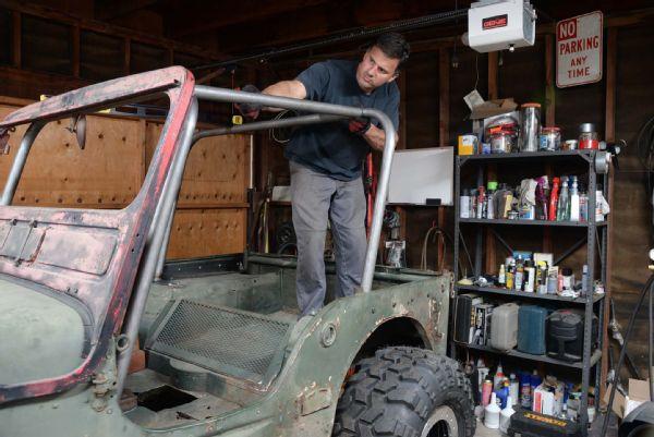 Gpw Jeep Flatfender Flattie Rollcage Dom Weld Welding Cage Fabrication Prp Seats Cappa Lpr Photo 139037714