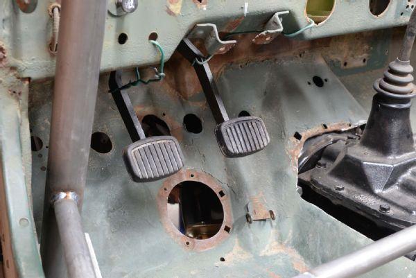 Gpw Jeep Flatfender Flattie Fabrication Advance Adapters Pedals Swinging Brake Clutch Cappa Lpr Photo 139037687