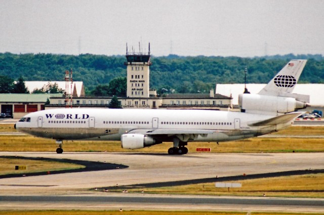 This DC-10-30 was the last ever produced: Photo - Ken Fielding