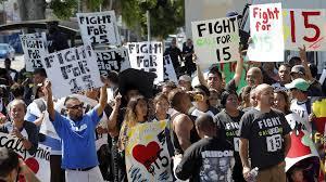 $15 an hour minimum wage rally