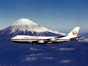 Japan Airlines 747 : Photos Courtesy Japan Airlines