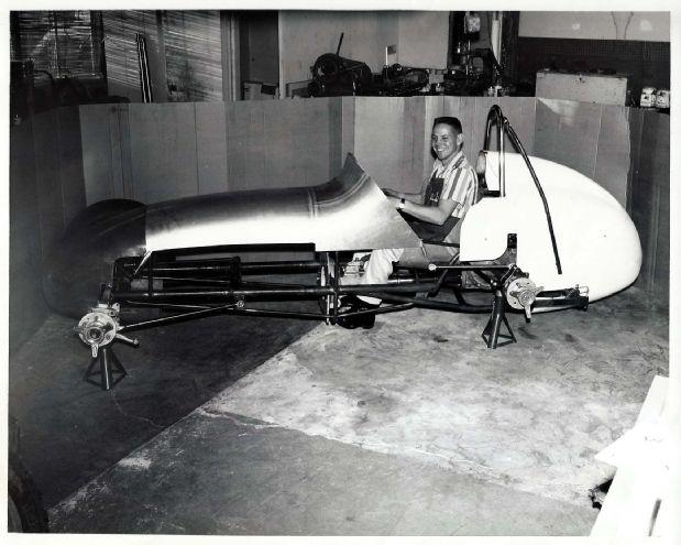 007 Hedrich Sprint Car Construction