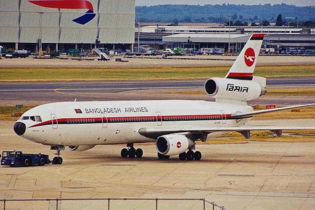 S2-ACR, the last DC-10 in any sort of passenger service. Photo by Ken Fielding