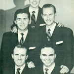 Gospel music giants: The Blackwood Brothers lineup of Bill Shaw, James Blackwood, R.W. Blackwood, Bill Lyles and Jackie Marshall were set to perform at the 1954 Chilton County Peach Festival.