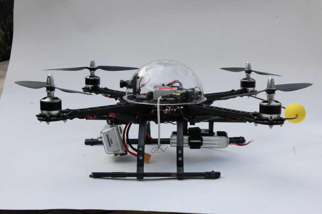 A hobbyist drone. Photo by Flickr user Steve Lodefink