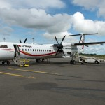 Visiting (New) Britain and (New) Ireland in One Day on a Air Niugini Q400