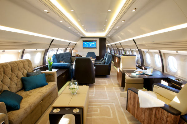 This ACJ320 was outfitted by Comlux America.