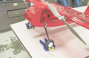 Students on the Design, Build, Fly team spend nine months designing and building a model aircraft that will compete against 65 U.S. teams and 35 international teams.