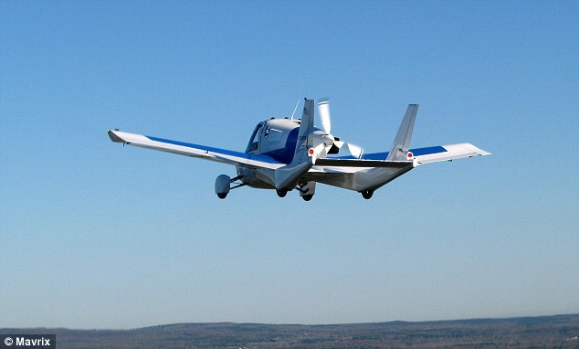Engineers from Massachusetts-based Terrafugia will discuss how they designed and developed the Transition flying car, pictured, set to go on sale in 2015. The online event is being hosted by Nasa and will begin at 1pm EST (6pm GMT) today