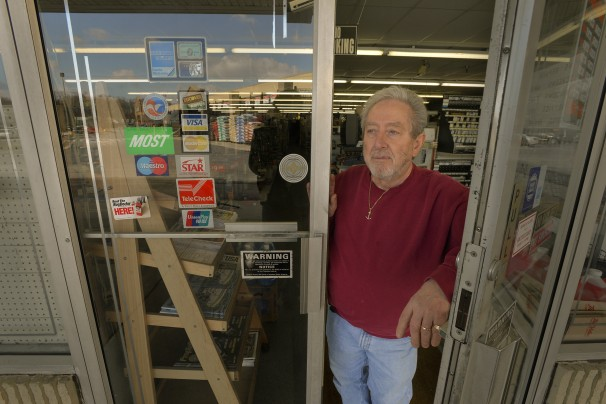 Ken Hoffman is the 72-year-old owner of Carroll Island Hardware in Middle River, Md.