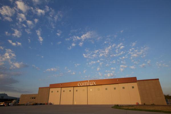 Comlux America hangar